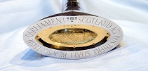 Photograph of the Scottish Parliament Mace