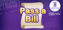 Illustration of Pass a Bill game
