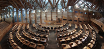 Debating Chamber from above