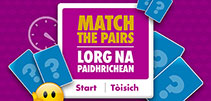 Illustration of Matching Pairs game