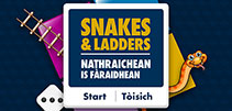 Image from the Snakes and Ladders game
