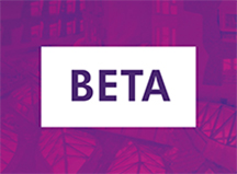 Beta website logo