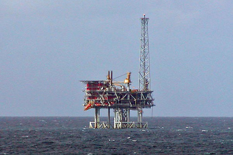 North Sea oil platfrom.  Picture: Stan Shebs / Wikimedia Commons
